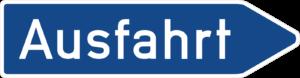 Autobahn Ausfahrten & Auffahrten an der Autobahn A1